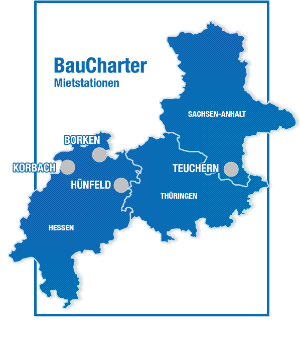 Baucharter Mietstationen